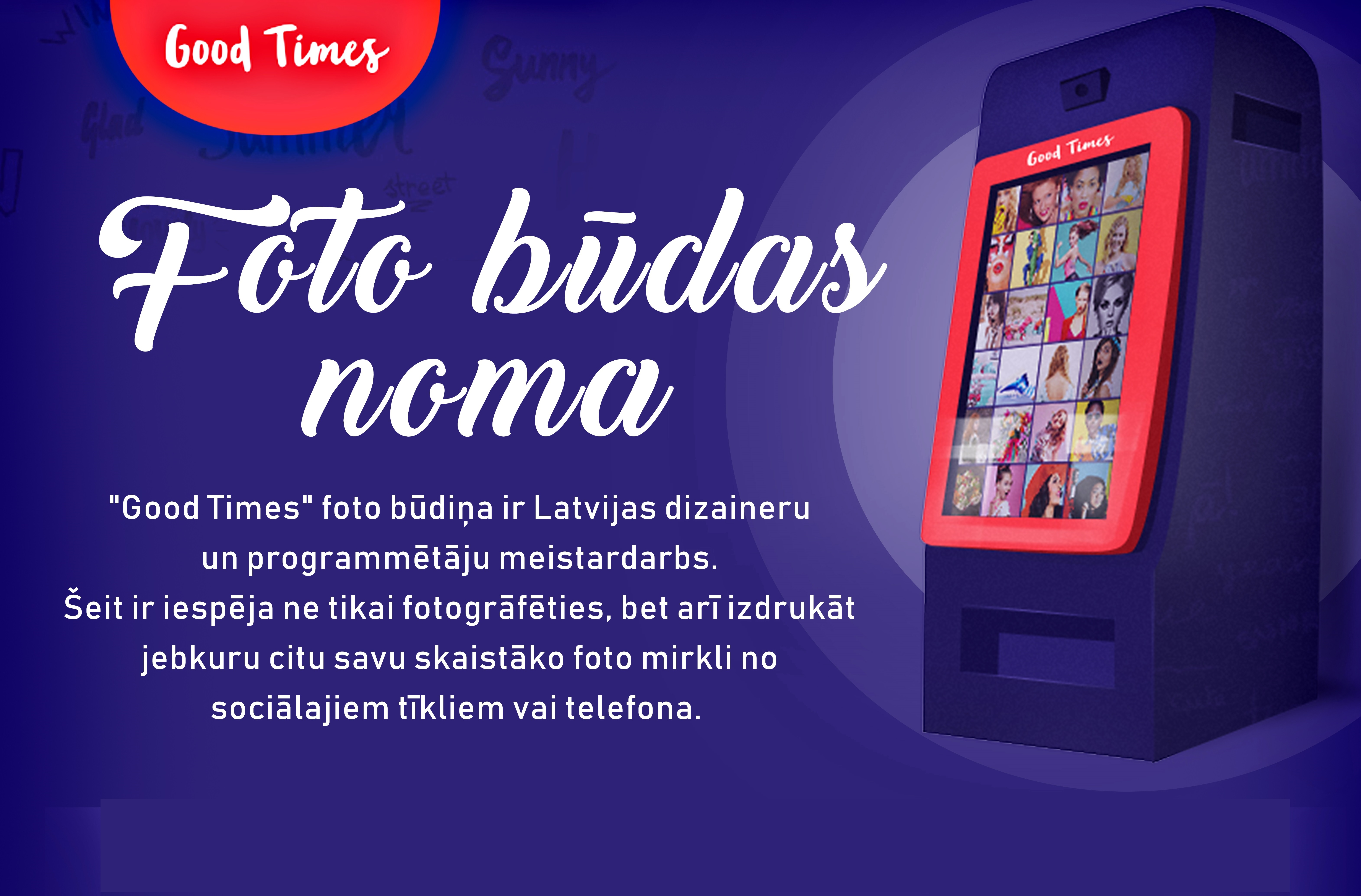 Sadarbībā ar - www.fotobuda.lv