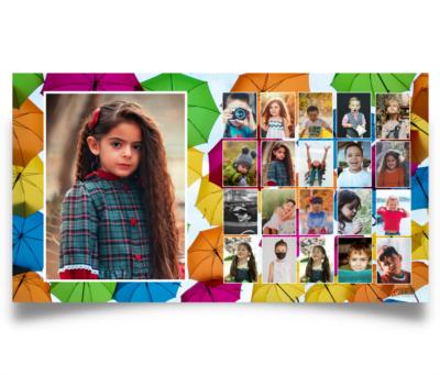Selfiju klases foto™ izlaiduma albumi bērnudārziem