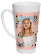 Latte krūze XL