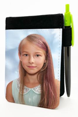 Blociņš ar foto un pildspalvu